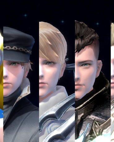 天族七种体型男性捏角